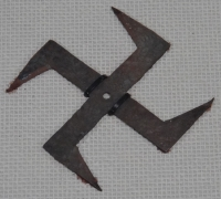 Swastika shaped Shuriken1